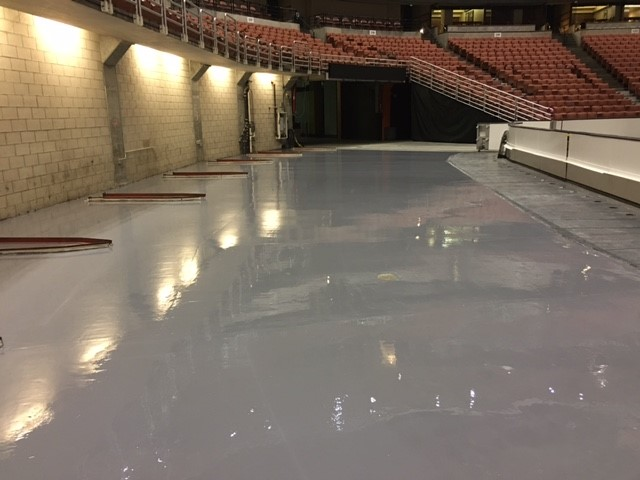 Epoxy Flooring Honda Center